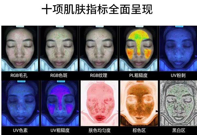 智能面部拍照仪不同检测方法的实际使用效果对比