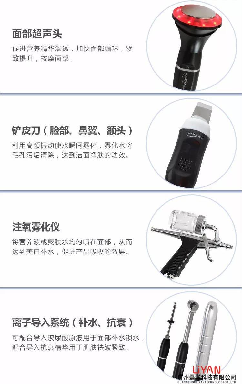 第五代皮肤管理仪探头介绍