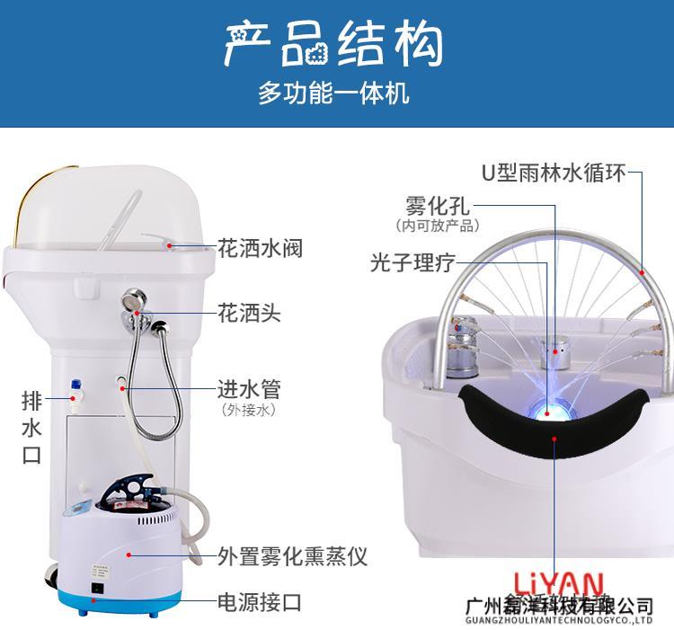 头疗SPA护理仪结构展示