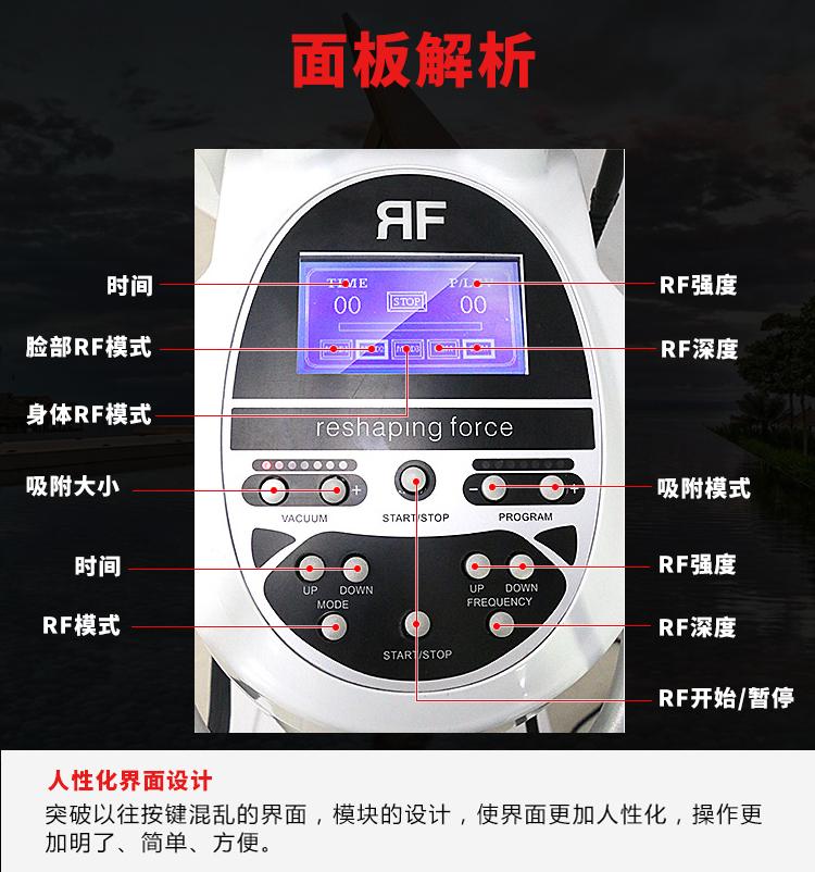 电波量子脂肪刀模板介绍