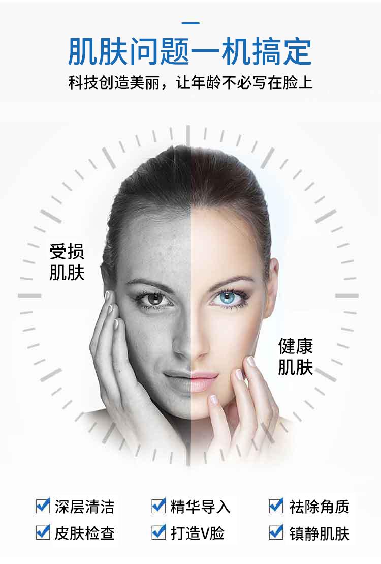 皮肤水氧管理系统可搞定8大肌肤问题
