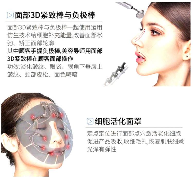 细胞活化仪手柄及面罩功能介绍