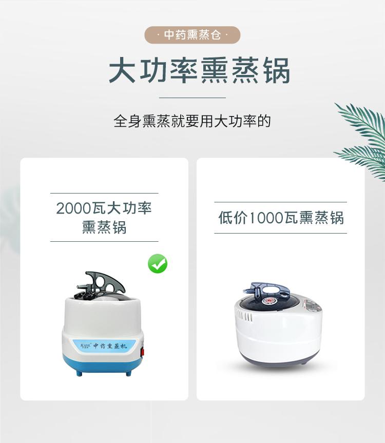 广州磊洋的中药熏蒸仓配有2000瓦大功率熏蒸锅